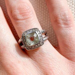 David Yurman | Petite Albion® Ring with Prasiolite